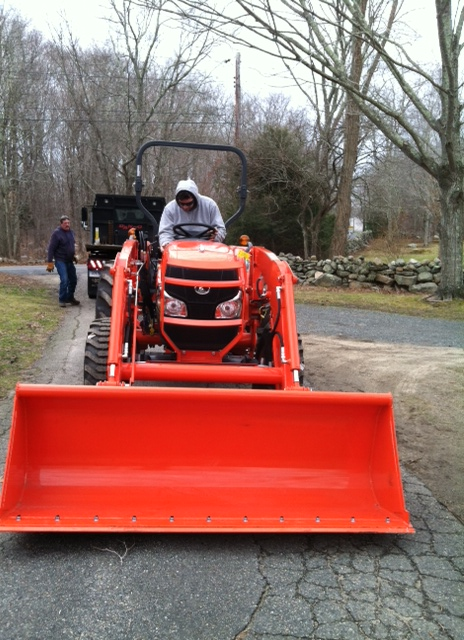 Brand New Kubota for Town Farm